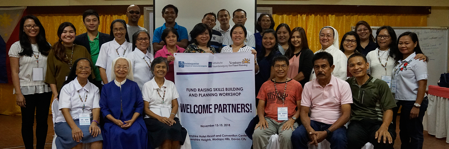 Fund Raising Capacity Building for DKA Austria's Philippine Partners